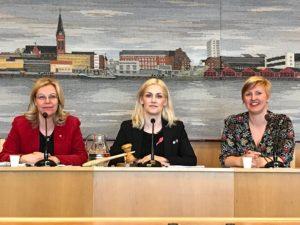 Lenita Ericson, Emma Engelmark och Carina Sammeli