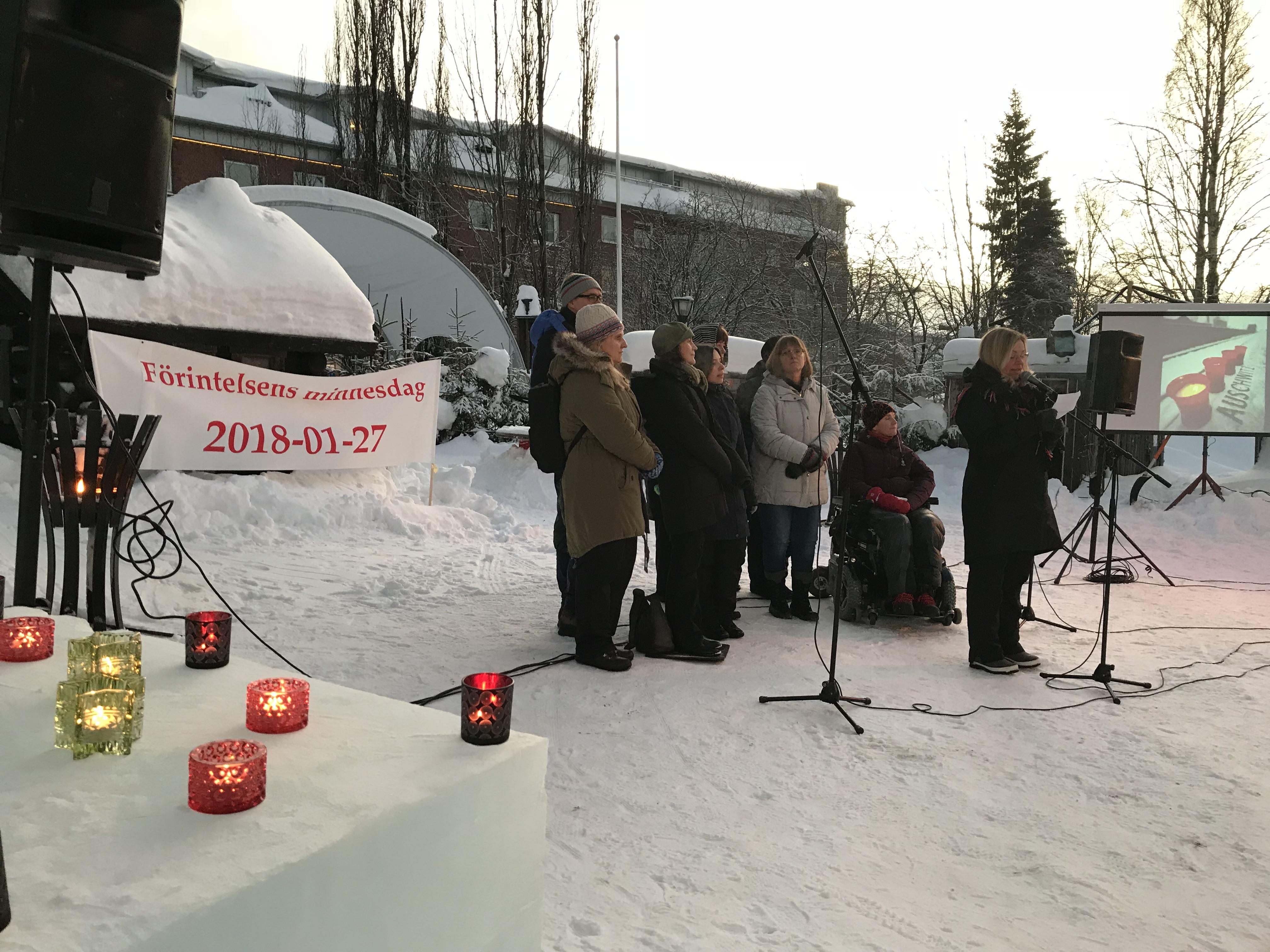 Minnesdag för Förintelsens offer 27 januari