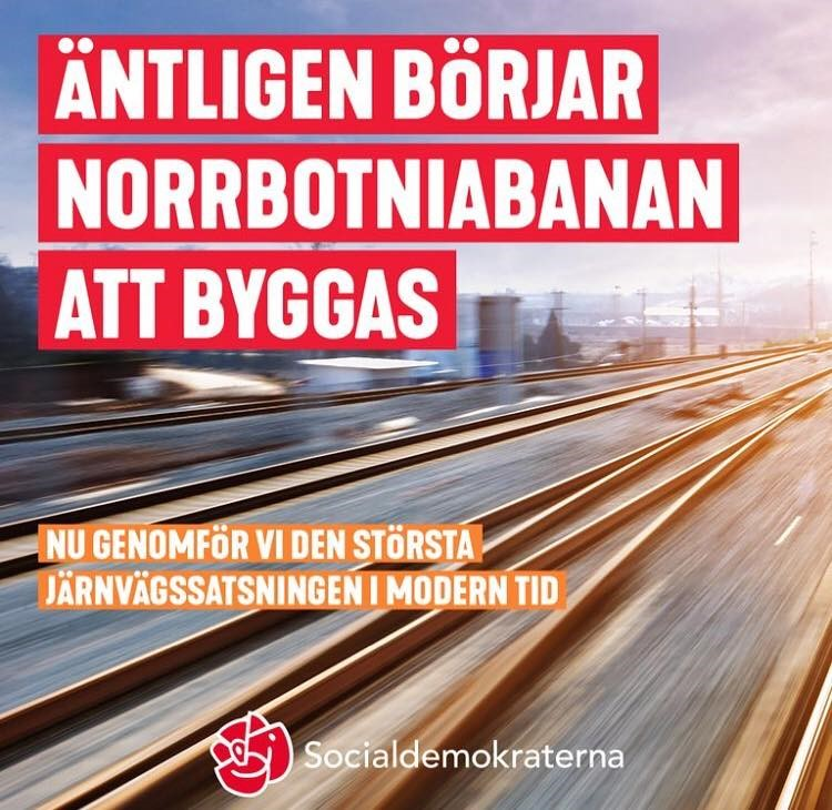Klartecken för Norrbotniabanan!