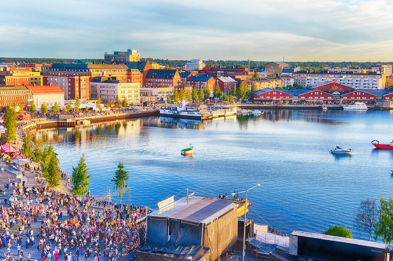 Sossar på Luleå Hamnfestival 5-7 juli